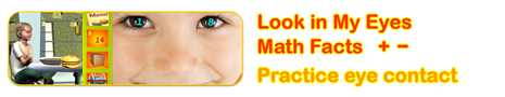Look in My Eyes Math Facts
